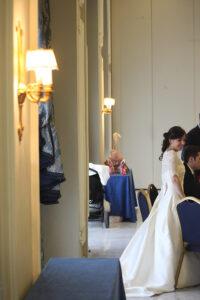 Novia en celebración boda Hotel IPV Palace and spa