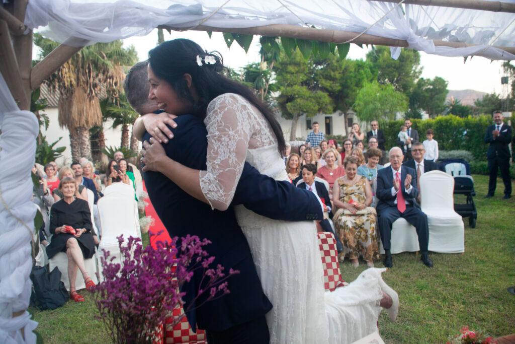 fotografo bodas celebracion exterior
