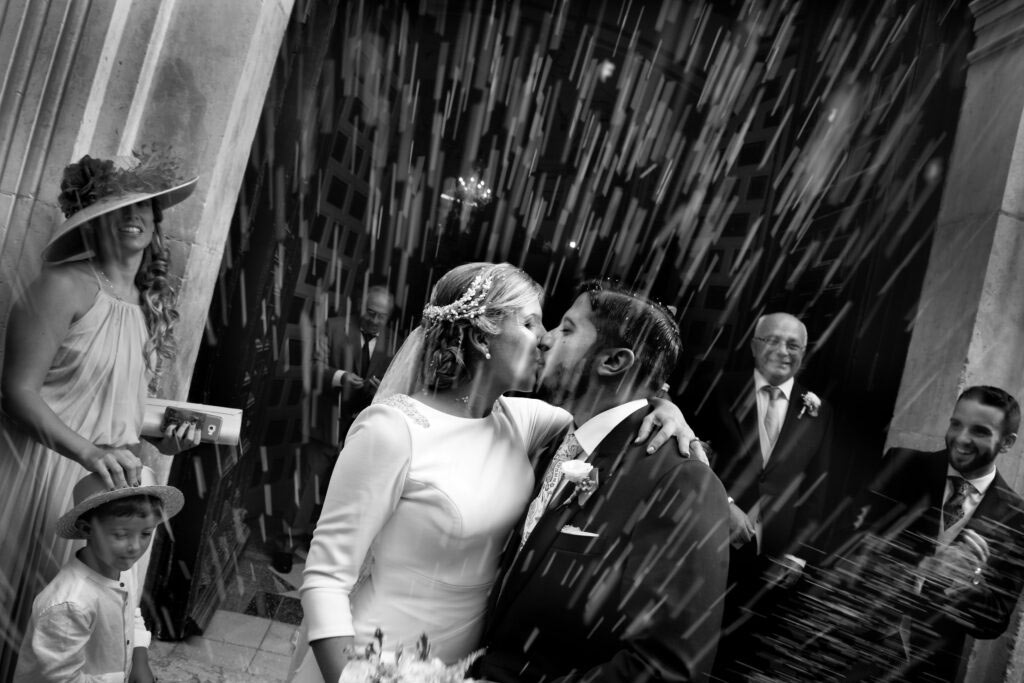 fotografo bodas malaga Beso Novios