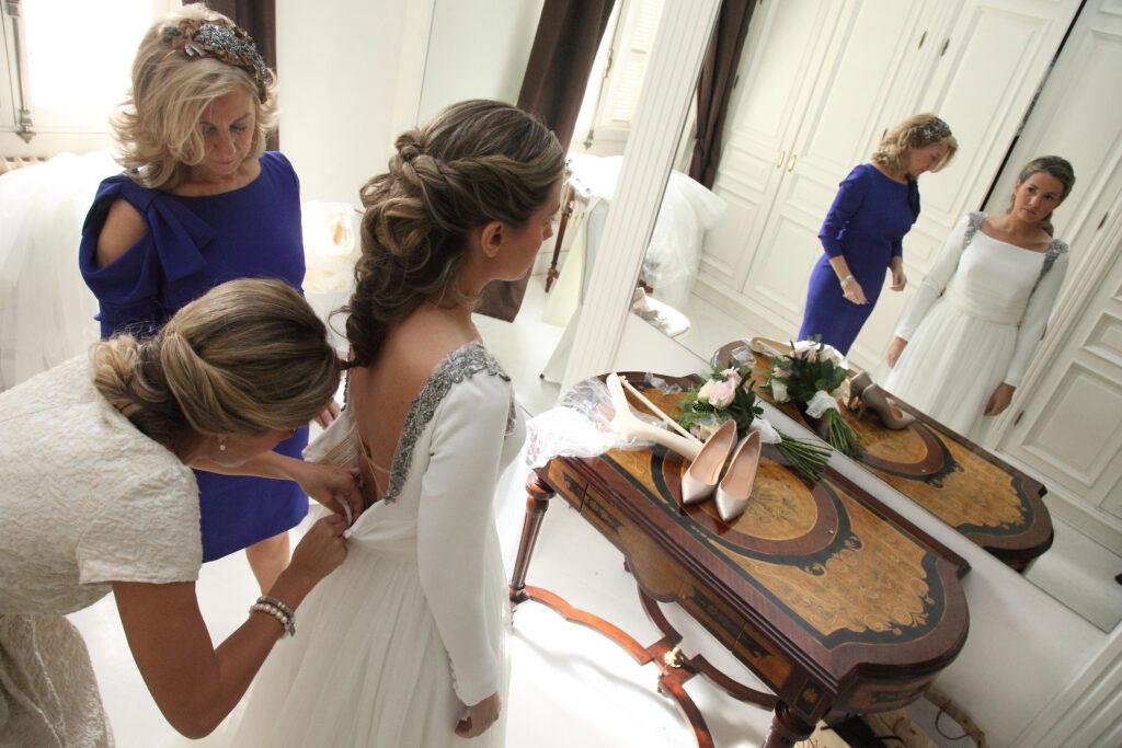 fotografo bodas novia vestido