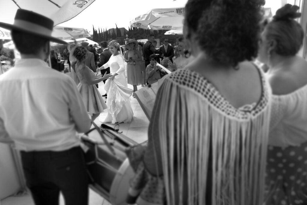 foto de boda en Málaga