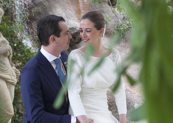 Reportaje fotografía bodas novios Málaga Paz y Roberto