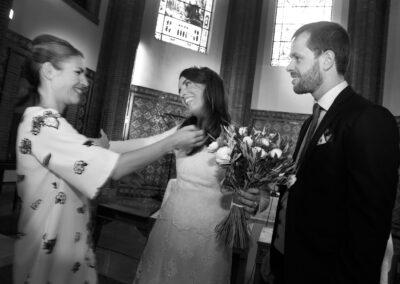Reportaje de boda Ainhoa Foto blanco y negro - Fotógrafo de bodas Carlos Lancha 11