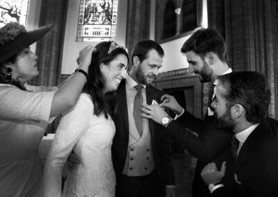 Reportaje de boda Ainhoa Foto blanco y negro - Fotógrafo de bodas Carlos Lancha 12