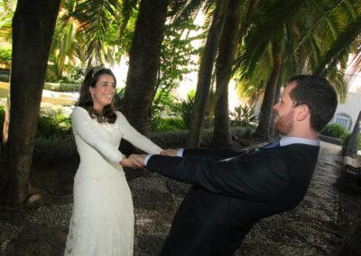 Reportaje de boda Ainhoa - exterior