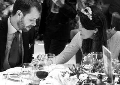 Reportaje de boda Ainhoa Foto blanco y negro - Fotógrafo de bodas Carlos Lancha 21