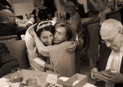 Reportaje de boda Ainhoa Foto blanco y negro - Fotógrafo de bodas Carlos Lancha 22