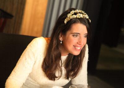 Foto de novia por fotografo de ceremonia Carlos Lancha Málaga