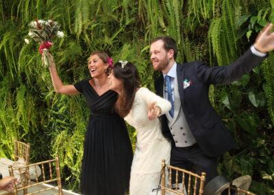 Fotografo de bodas en Málaga - Foto ramo de novia