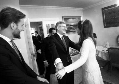 Reportaje de boda Ainhoa Foto blanco y negro - Fotógrafo de bodas Carlos Lancha