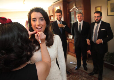 Reportaje de boda Ainhoa Novia Carlos Lancha