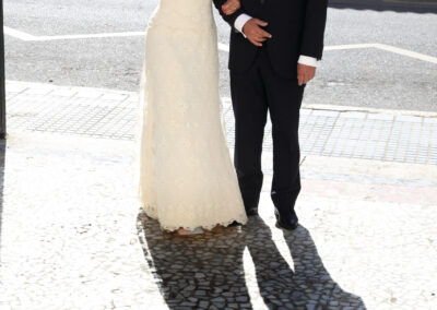 Reportaje de boda Ainhoa Foto blanco y negro - Fotógrafo de bodas Carlos Lancha 6