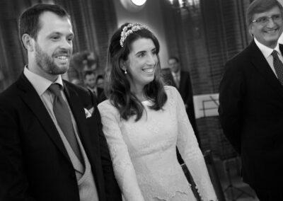 Reportaje de boda Ainhoa Foto blanco y negro - Fotógrafo de bodas Carlos Lancha 7